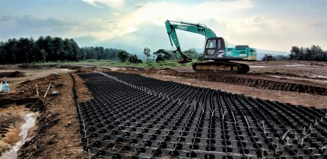 Geoćelije za ojačanje slabo nosivog tla