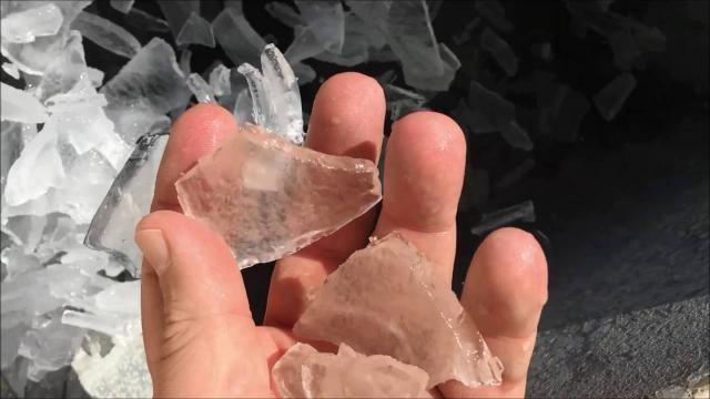 Snižavanje temperature betona ledom