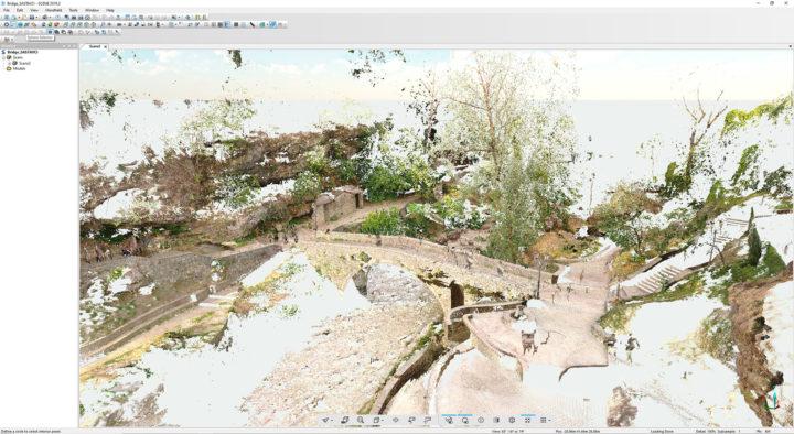Digitalalna prezervacija Starog mosta na Ribnici